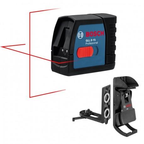 GLL 2-15 Laser croix Bosch + BM3