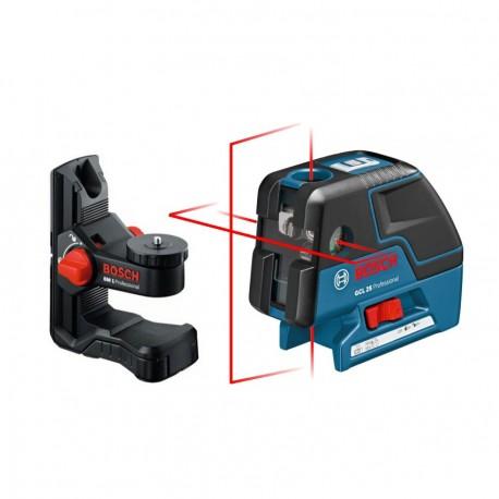 Niveau laser croix lignes gcl 25 bosch bm1 plus - Laser en croix bosch ...