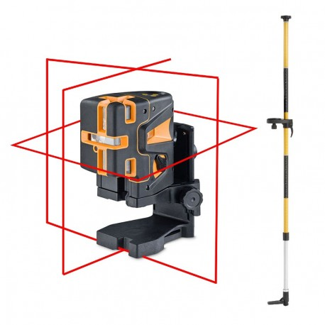 Geo 5X L360 HP Geo Fennel + canne support laser