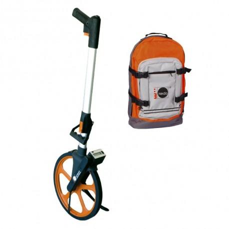 Odomètre léger DIGITAL Nedo + sac de transport
