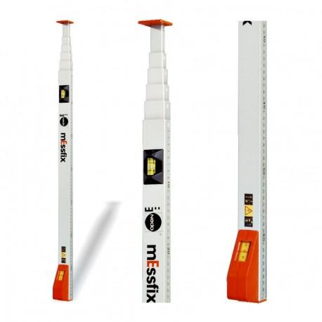 Canne mesureuse telescopique 1 m mEssfix Nedo