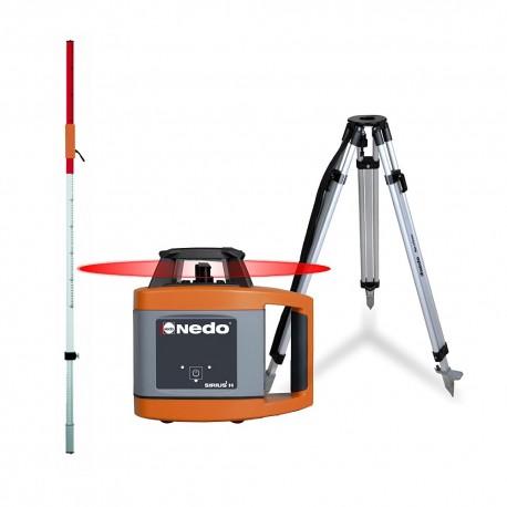 PACK Laser rotatif Nedo SIRIUS 1 H