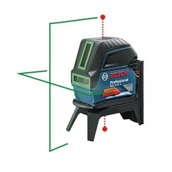 GCL 2-15 G Bosch - Niveau laser VERT point + ligne