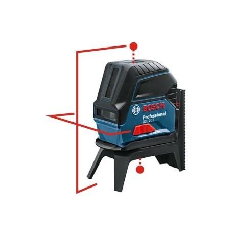 GCL 2-15 Bosch - Niveau laser point + ligne