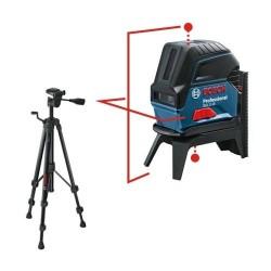 Pack GCL 2-15 Bosch - Niveau laser point et ligne + trépied BT 150