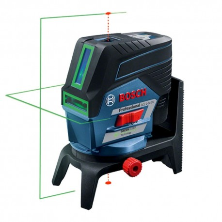laser croix vert