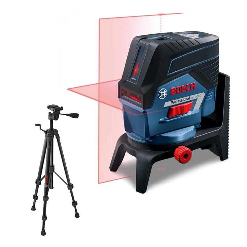 Niveau laser bosch gcl 2 50 c tr pied bt 150 for Niveau laser bosch quigo 2