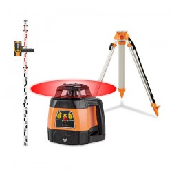 Pack Laser FL 105H Geo Fennel + Trépied + Mire