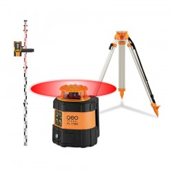 Pack FL 115H Geo Fennel - Laser rotatif horizontal + trépied + mire