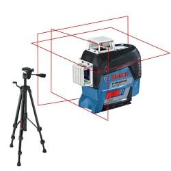 Pack GLL 3-80 C + BT 150 - Laser croix Bosch