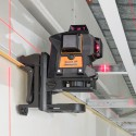 GEO6X SP KIT + support multifonction & li-ion - Laser ligne 360° x 3