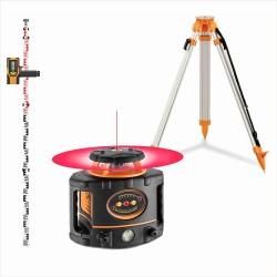 pack niveau laser rotatif automatique