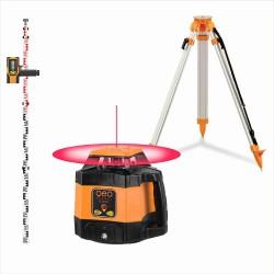 Pack FL 220 HV - Laser rotatif Auto H/Z - trépied + mire