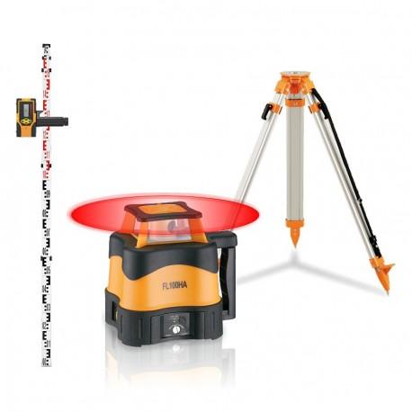Pack FL 100 HA laser rotatif de TP - Fonction pente Geo Fennel