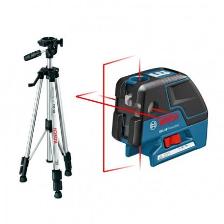 GCL 25 laser croix / Trépied BS 150 Bosch
