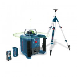 Pack GRL 300 HVG Laser rotatif + trépied Bosch