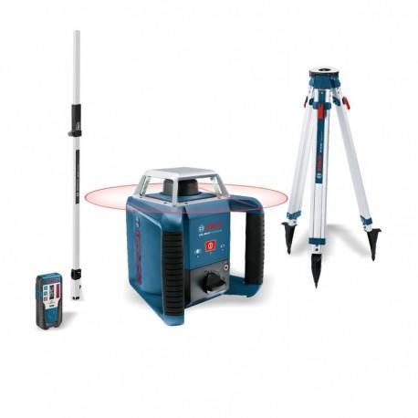 Laser rotatif bosch grl 400 h tr pied mire pack for Trepied pour laser bosch