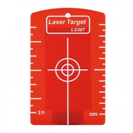 Cible magnétique LS 307 rouge Geo Fennel