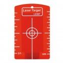 Cible magnétique pour laser rouge