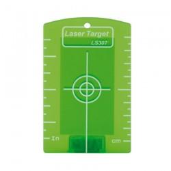 Cible magnétique pour laser vert