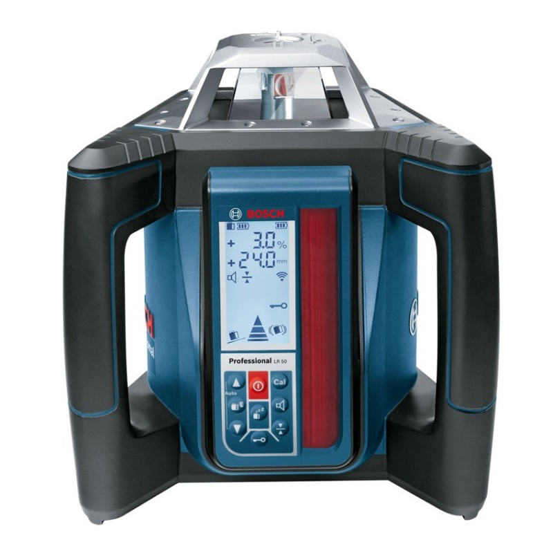 Bosch grl 500 h niveau laser tr pied mire lr 50 pack for Trepied pour laser bosch