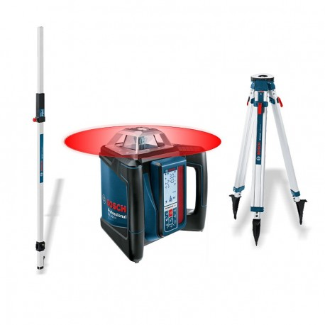 GRL 500 H Bosch - Pack niveau laser + trépied + mirer + LR 50