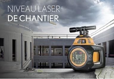niveau laser de chantier