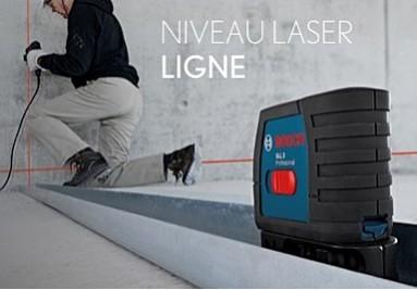 Niveau laser ligne